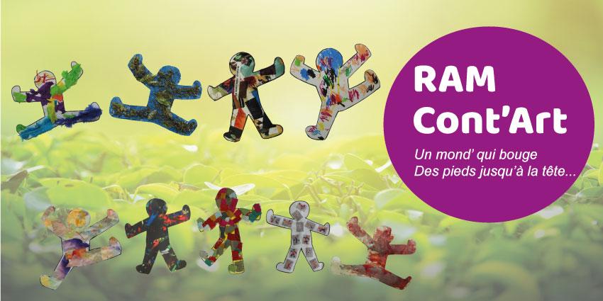 Ramcont'Art 2019 : déambulation artistique pour les tout-petits