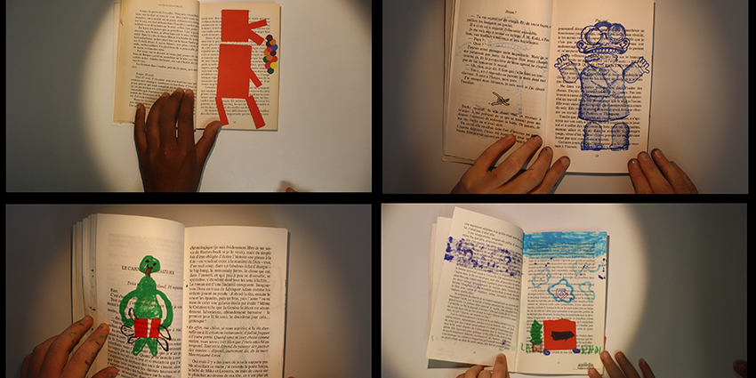 Rencards nomades : «Atelier flip book»