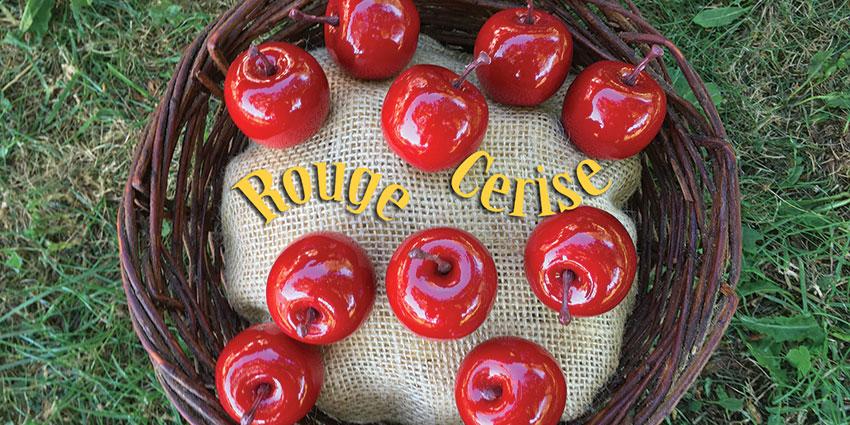Rencards nomades : Rouge Cerise