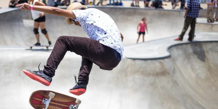 Pôle «Adolescents» : animation au skate park de Tallende